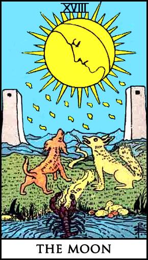 Moon Tarot Card Meanings - Aquarian Insight