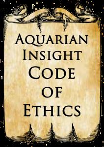 Aquarian Insight Code of Ethics